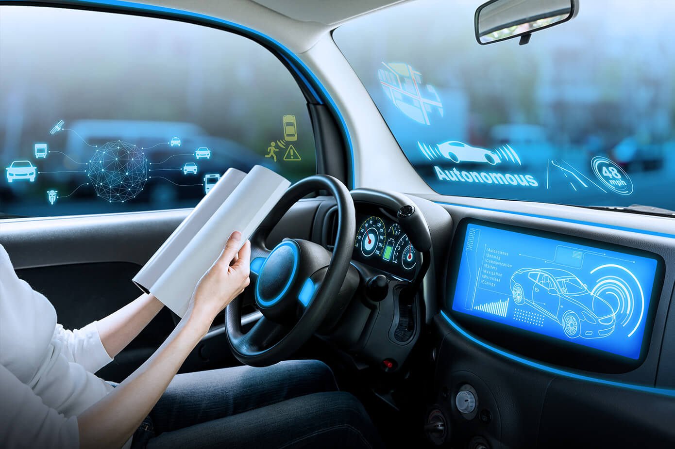 Automotive solutions - autonomous driving - sensing