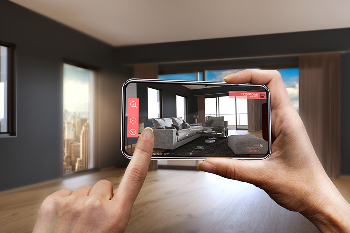 3d dToF augmented reality for mobile