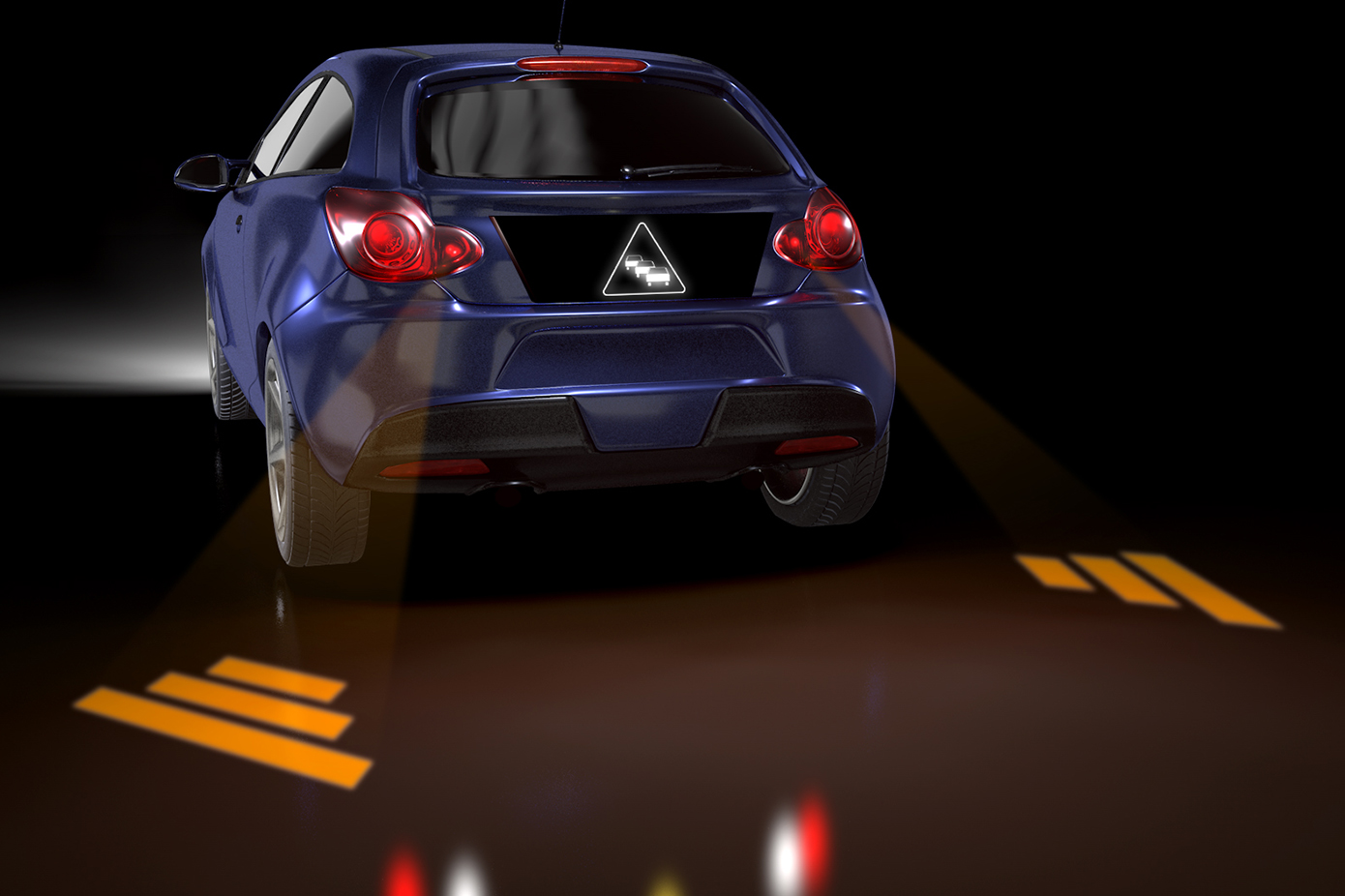projected lighting in automotive