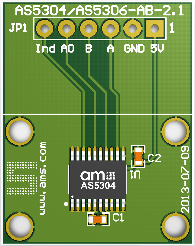 AS5304AdapterBoard Image