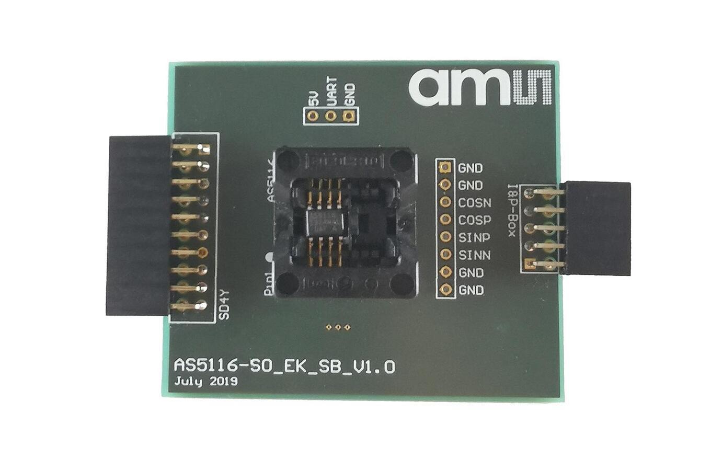 AS5116 Socket Board (Top View)