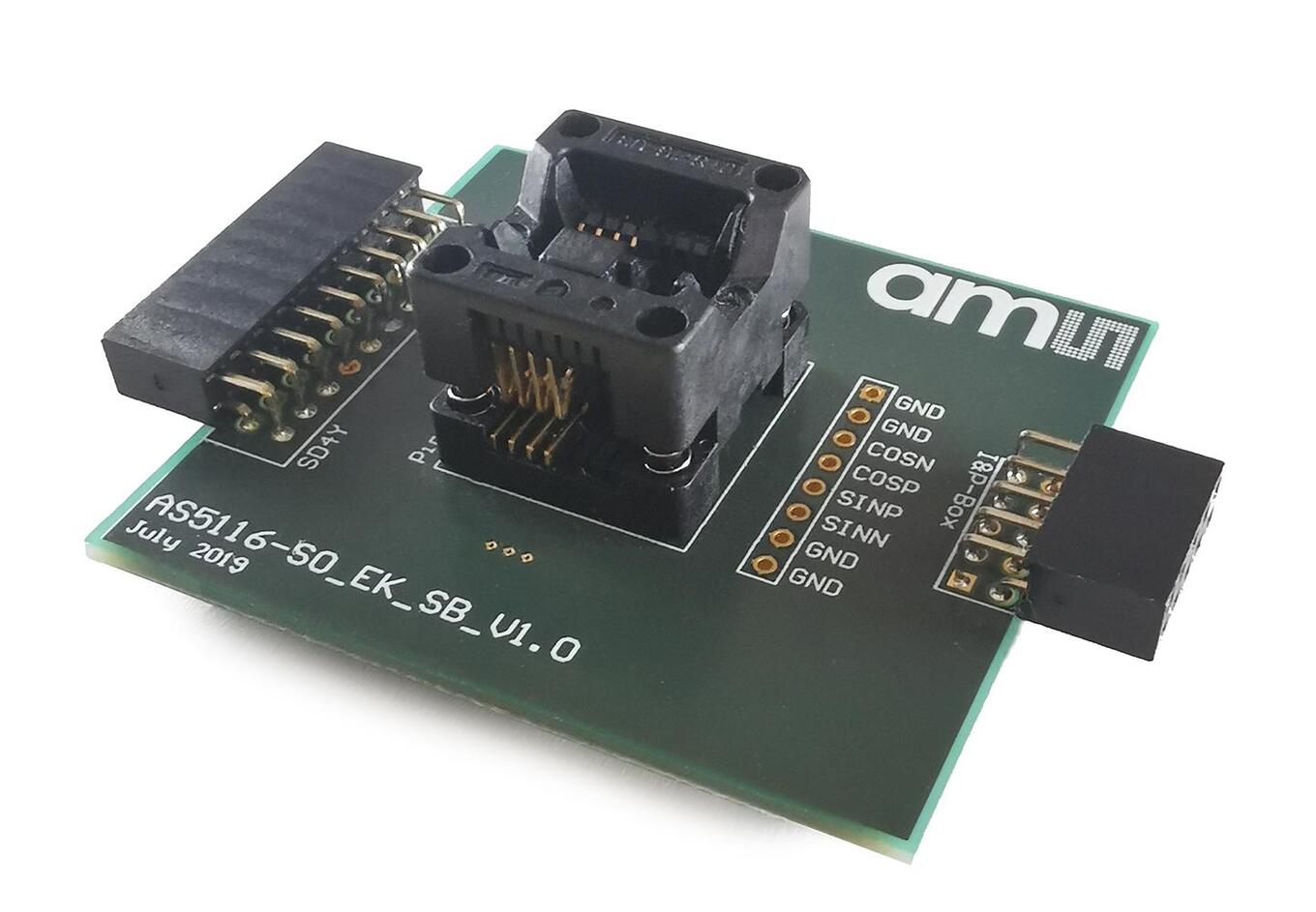 AS5116 Socket Board (Perspective View)